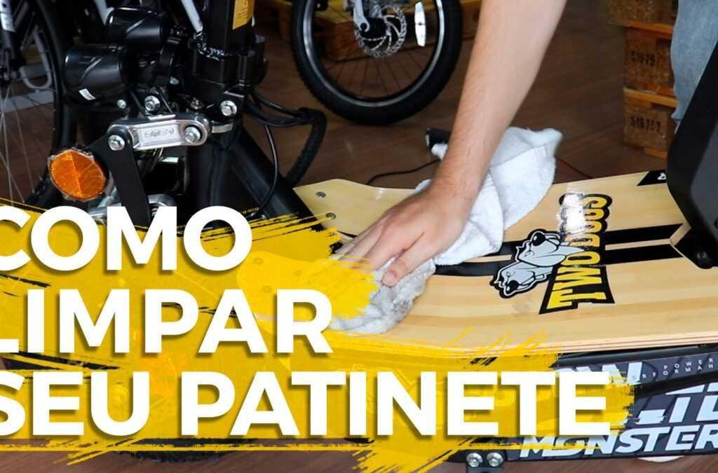 Como limpar seu Patinete Elétrico