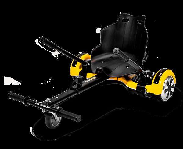 carrinho Go Kart com hoverboard da Two Dogs