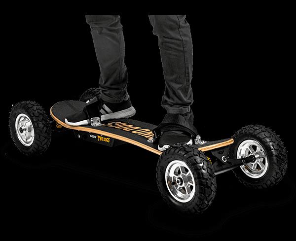 skate elétrico off-road two dogs